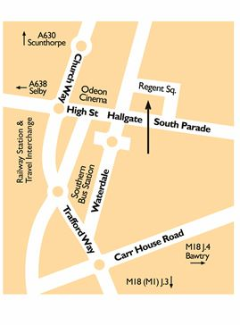 Regent Map