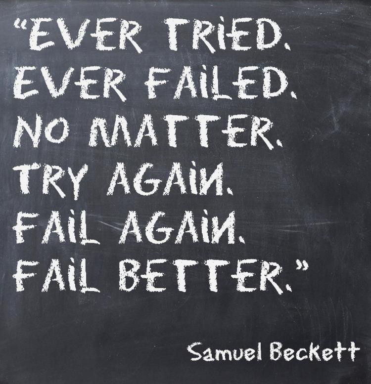 Ever Tried Ever Failed Samuel Beckett