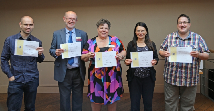 Toastmasters International   Doncaster Speakers   Humorous participants Anthony Day Jean Stewart Alex Kelly Andy Nicholls Claire Crowther