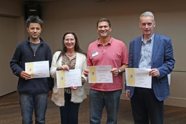 Toastmasters International | Doncaster Speakers | TT participants Trevor Hatib Tony Bairstow Pauline Westrop Andrew Miller