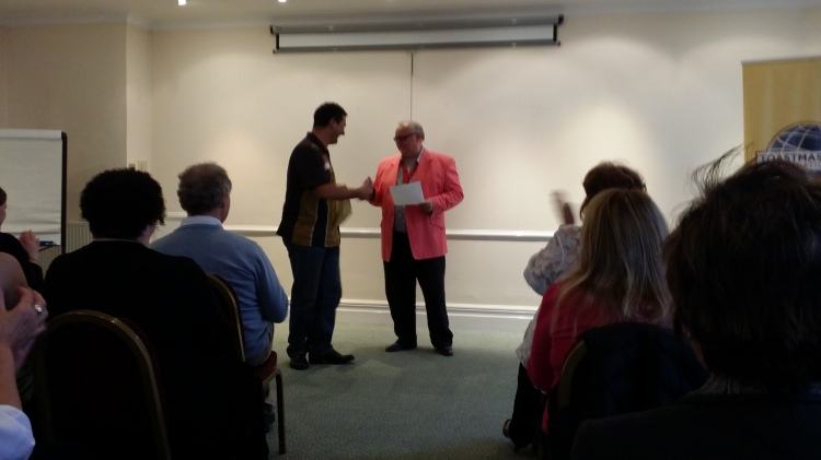 Toastmasters International Division E Contest   Andrew Miller