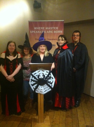 Doncaster Speakers | Halloween Themed Evening