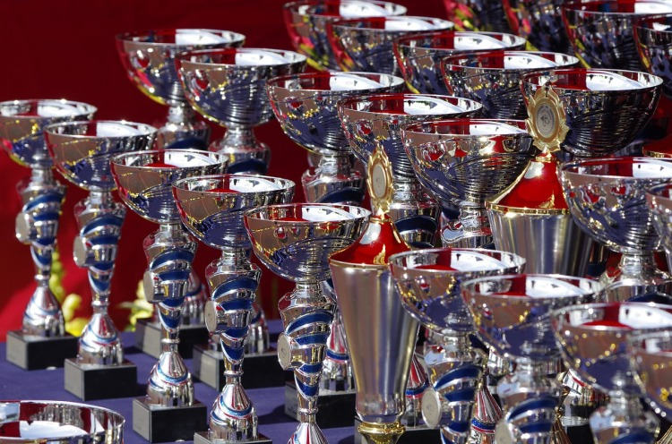 Image of trophies